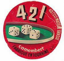 FROMAGE CAMEMBERT 421 JEU FABRIQUE EN TOURAINE