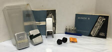 Minox B Spy Camera accessories (no camera) Film Cans Manual Flash Unit Case more