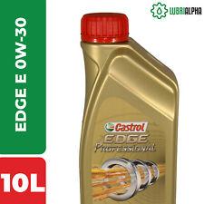 Olio Motore Castrol EDGE Professional E 0W30 TITANIUM FST 10 Litri