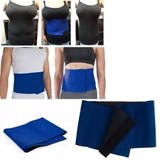 Slimming Exercise Waist Sweat Belt Wrap Fat Burner Body Neoprene Cellulite Lot