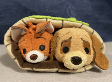 More details for disney tsum tsum plush, usa subscription exclusive the fox and the hound set