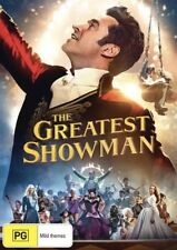 THE GREATEST SHOWMAN DVD NEW & SEALED- FREE POSTAGE! REGION 4