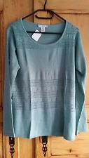 PULL VERT DAXON NEUF - TAILLE 46/48 - MANCHES LONGUES
