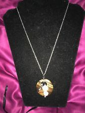 South African Tigers Eye Pendant Necklace