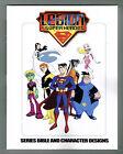 Warner Bros - Legion of Super Heroes - CHARACTER DESIGNS Book