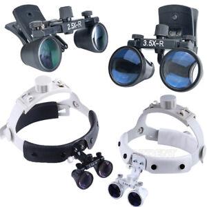 Dental Clip type / Headband Surgical Medical Binocular Loupes /Magnifier/ Clip