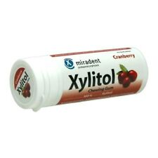 Hager Pharma Xylitol Chewing Gum Cranberry, 30 Count