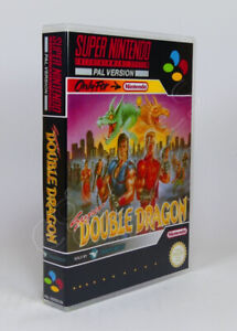Super Nintendo SNES Game CASE ONLY - Super Double Dragon