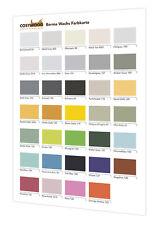 Farbkarte Borma Shabby Kreidefarbe Naturaqua 32 Farben