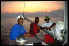 328075 The Crew Of Eclipse At Sunset Negril A4 Photo Print