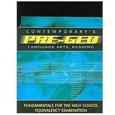 Contemporary's PRE GED Language Arts, Reading  Fundamentals for the High School