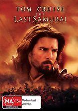 THE LAST SAMURAI - BRAND NEW & SEALED DVD (TOM CRUISE) REGION 4