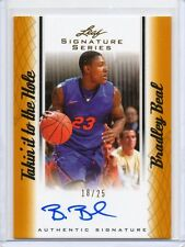 2012-13 Bradley Beal Leaf Signature GOLD Takin it to the Hole #D 18/25 (C3)