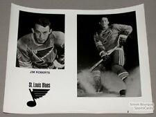 Original Late-60's Jim Roberts St-Louis Blues Photo
