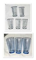 Crate & Barrel Drinking Glass Tumbler Sets WINDOW PANELS (See Selections)