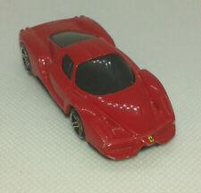 enzo ferrari rouge race course super car hotwheels 1/64 Hot Wheels