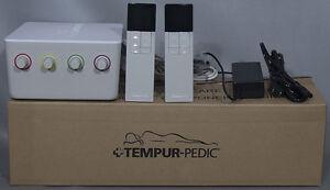NEW Tempur-Pedic TEMPUR-Choice Mattress Pump Assembly Kit w/2 Remotes