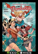 DC BOMBSHELLS THE DELUXE EDITION BOOK 1 HARDCOVER Hardback Collects (2015) #1-6