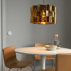 """Only One! IKEA ÄLVSTARR Large (Floor/Pendant) Lamp Shade,Gold Effect 20"""""""