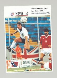 Nevis 1994 Soccer 1v Imperf Proof of S/S