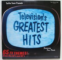 TELEVISION'S GREATEST HITS / 65 TV THEMES FROM THE 1950's & 60's / DOUBLE LP SET
