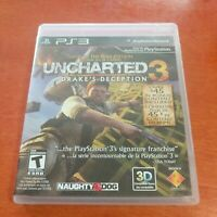 Uncharted 3 Drake's Deception Game Of The Year Edition Sony PlayStation 3 PS3