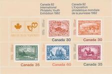 Canada 1982 # 913a - CANADA 1982 souvenir sheet - MNH