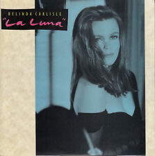 "BELINDA CARLISLE  La Luna PICTURE SLEEVE 7"" 45 rpm record + jukebox title strip"
