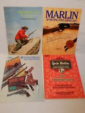 Vintage Gun Catalog Lot Smith Wesson Gander Mountain Marlin Remington Firearms