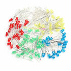100Pcs 5mm LED Light White Yellow Red Green Blue Assorted Kit DIY LEDs Set