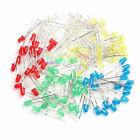100Pcs 5mm LED Light White Yellow Red Green Blue Assorted Kit DIY LEDs Set