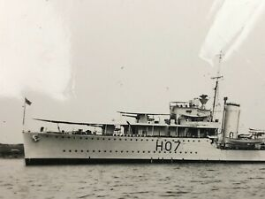 HMS Defender (H 07) British Destroyer WW2 Destroyed Egypt Ship Photo Europe Navy