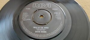 David Bowie, Wild Is The Wind, Golden Years, BOW 10, PB 9815, UK, 1981