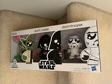 Star Wars 2010 Exclusive Mini Mighty Muggs Vinyl Figure 3-Pack:Yoda, Darth,Storm