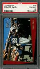 1993 select #55 EMMITT SMITH dallas cowboys PSA 10