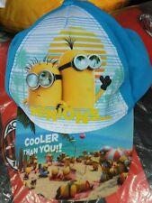 Cappello regolabile con visiera MINIONS da bambino