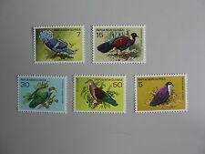 PAPUA NEW GUINEA, Vogels, Birds, serie, 1977, Postfris/MNH