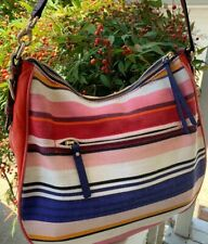 Kate Spade New York Cobble Hill Fabric Mylie Shoulder Striped handbag Tote Purse