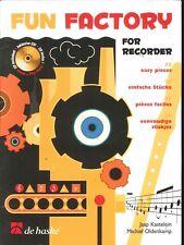 Fun Factory Easy Recorder Songbook w CD Oldenkamp 2004 De Haske Kastelein Waltz