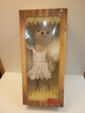 Beautiful Schuco Teddy Bear Abstaubär 09054 With Duster Size 11in Boxed