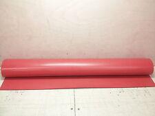 "NOS Solid Silicone Rubber Sheet Mat 3' x 3' x 1/8"" ZZ-R-765 Class 2A Grade 40"