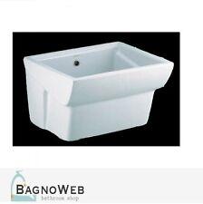 Lavabo Lavandino Lavatoio sospeso 60 x 50 cm Ceramica Dolomite Messico 1^ scelta