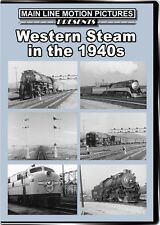 Western Steam in the 1940s DVD NEW Main Line B&W Western Pacific Feather River