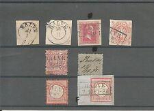 Preussen V. / BALVE 8 interessante Stücke, dabei vorph. kl. K1 + K2 auf Blanko-B