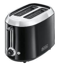 BD 2 Slice Toaster Black 24251