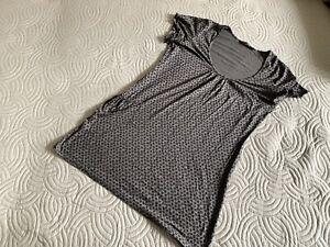 GUDRUN SJODEN dress tunic size L chort clevee