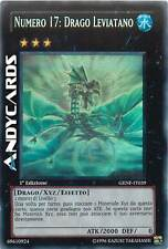 1a EDIZIONE M/NM Numero 17: Drago Leviatano ☻ Ghost ☻ GENF IT039 ☻ YUGIOH