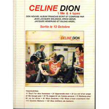 CD Céline DION Promo sampler 5 Tracks  Preco / cardboard PLV   RARE !! CD FRANCE