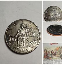 US 1/2 Dollar Liberty 1992 Columbus Half Dollar 500th Anniversary certificated