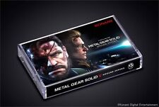 METAL GEAR SOLID V CASSETTE TAPE STAND VERY RARE NEW SEALED